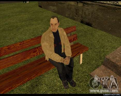 Sin Hogar Compota para GTA San Andreas segunda pantalla