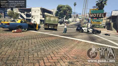 GTA 5 Police Chase Random Event quinta captura de pantalla