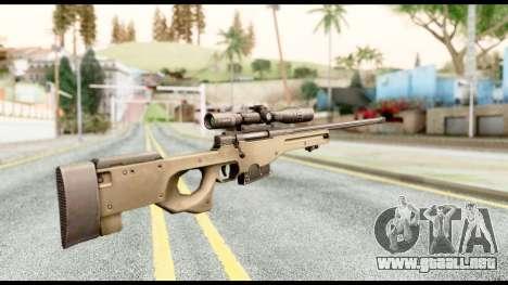 AWM L115A1 para GTA San Andreas segunda pantalla