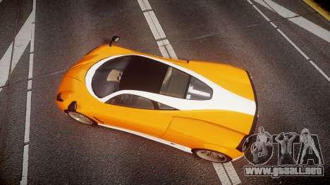 GTA V Pegassi Osiris para GTA 4 visión correcta