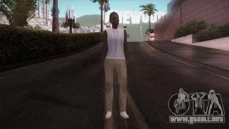 Lady Barber para GTA San Andreas segunda pantalla