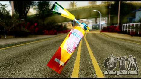 Brasileiro Fire Extinguisher para GTA San Andreas