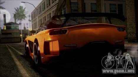 Mazda RX-7 Veilside para GTA San Andreas left