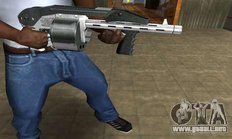 Silver Granate Combat Shotgun para GTA San Andreas segunda pantalla