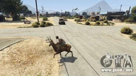 GTA 5 Ride A Deer [.NET] 0.2b sexta captura de pantalla
