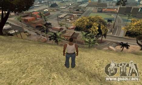 Aumentar el rango de vectorización para GTA San Andreas tercera pantalla