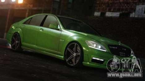 Mercedes-Benz S65 AMG Vossen para GTA 4 visión correcta
