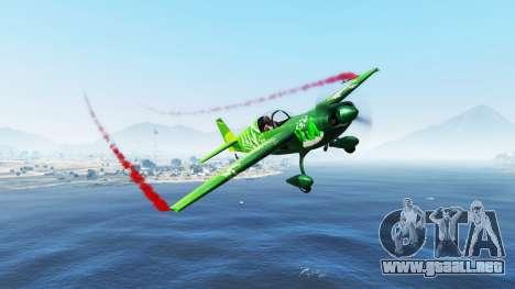 GTA 5 El humo de los aviones v1.2 tercera captura de pantalla