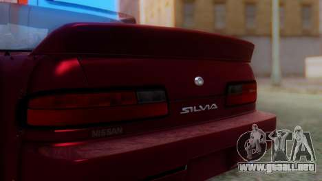 Nissan Silvia S13 Shakotan para GTA San Andreas vista hacia atrás