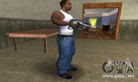 Silver Granate Combat Shotgun para GTA San Andreas tercera pantalla