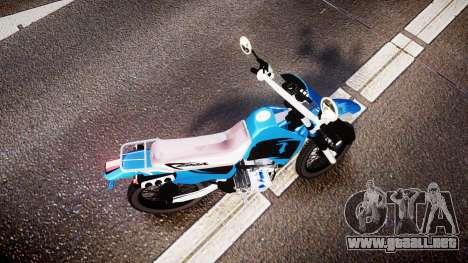 Honda XR 200 para GTA 4 visión correcta
