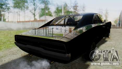 Dodge Charger RT 1970 Fast & Furious para GTA San Andreas left