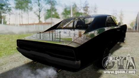 Dodge Charger RT 1970 Fast & Furious para GTA San Andreas left