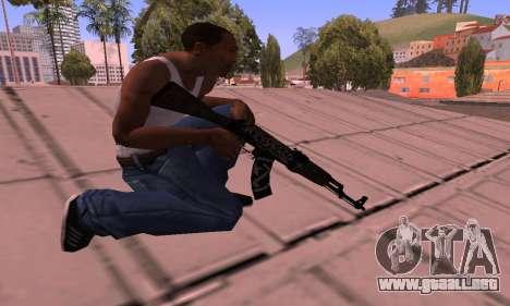 AK-47 Rebelde para GTA San Andreas tercera pantalla