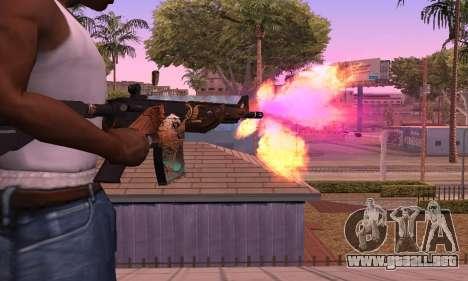 M4 Grifin para GTA San Andreas segunda pantalla