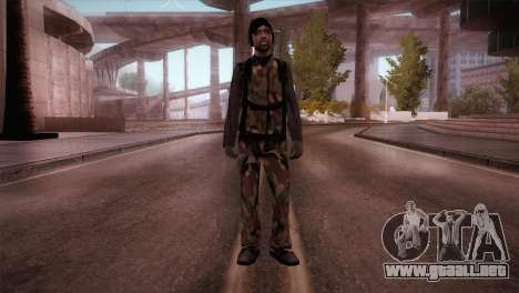 Operador de radio para GTA San Andreas segunda pantalla