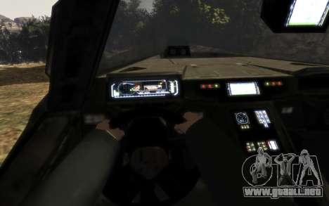CONSEJO de seguridad M12 warthog de Halo Reach para GTA 4 visión correcta