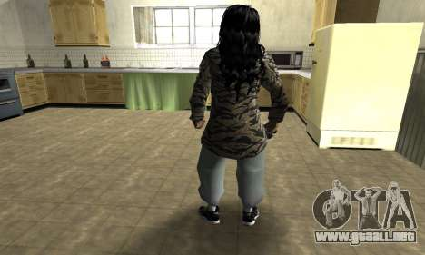 Cool Tokio Girl para GTA San Andreas tercera pantalla