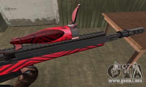 Red Romb Sniper Rifle para GTA San Andreas segunda pantalla