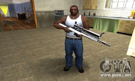 Bitten Sniper Rifle para GTA San Andreas tercera pantalla