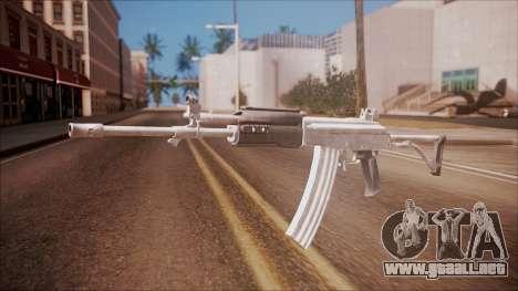 Galil AR v2 from Battlefield Hardline para GTA San Andreas