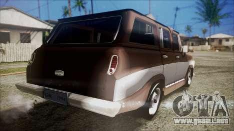 Chevrolet Veraneio para GTA San Andreas left