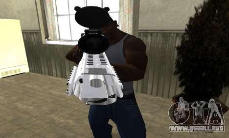 Original Sniper Rifle para GTA San Andreas segunda pantalla