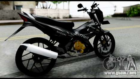 Satria FU Dark Fighter Predator para GTA San Andreas left