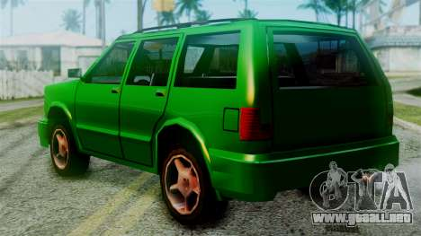 Landstalker New Edition para GTA San Andreas left