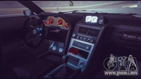 Elegy Lumus para vista inferior GTA San Andreas