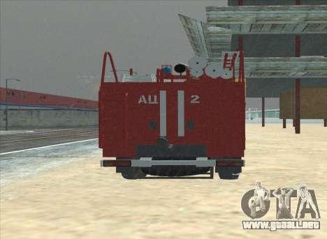 Ural 375 Bombero para la visión correcta GTA San Andreas