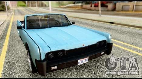 GTA 5 Vapid Chino Stock para GTA San Andreas