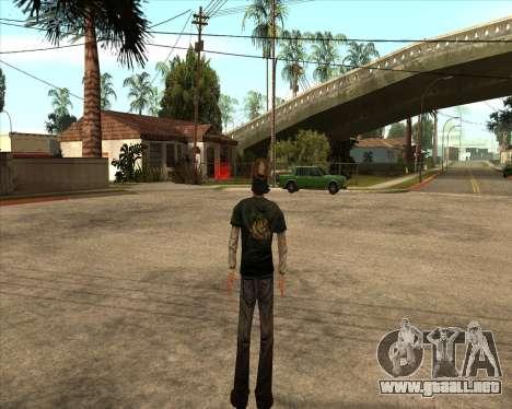 Kenny from Walking Dead para GTA San Andreas segunda pantalla