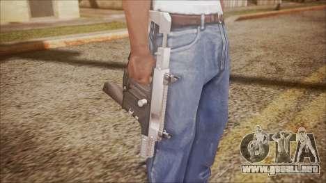 K10 from Battlefield Hardline para GTA San Andreas tercera pantalla