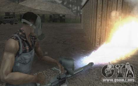 La máscara de Virtus para GTA San Andreas sucesivamente de pantalla