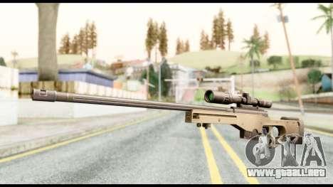 AWM L115A1 para GTA San Andreas