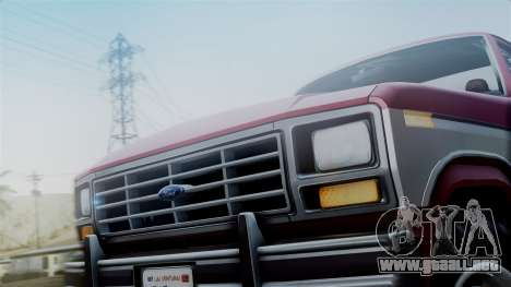 Ford F-150 Ranger 1984 para la visión correcta GTA San Andreas