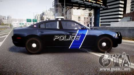 Dodge Charger 2014 LCPD [ELS] para GTA 4 left