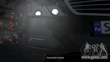 Mercedes-Benz E-Class 2015 Norwegian Police para GTA 4 vista interior