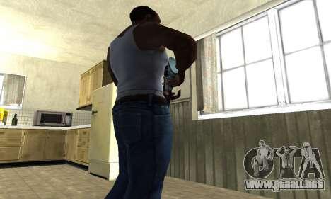 Mini Water Time Sniper Rifle para GTA San Andreas tercera pantalla