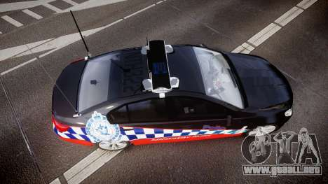 Holden VF Commodore SS Highway Patrol [ELS] para GTA 4 visión correcta