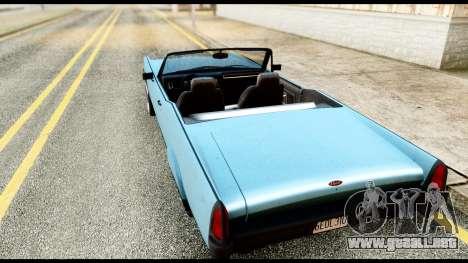 GTA 5 Vapid Chino Stock para GTA San Andreas left