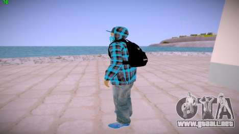 Latinos para GTA San Andreas tercera pantalla