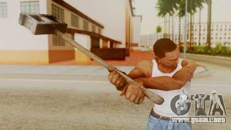 Bogeyman Hammer from Silent Hill Downpour v2 para GTA San Andreas tercera pantalla