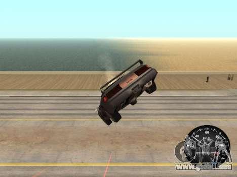 Velocímetro de GAS 52 para GTA San Andreas tercera pantalla