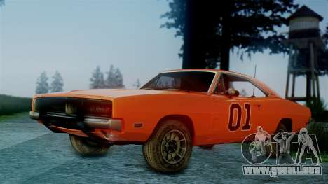 Dodge Charger General Lee para GTA San Andreas left