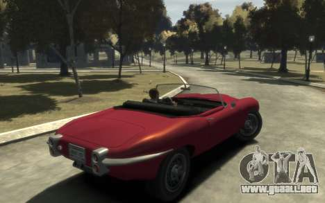 Enus Windsor Classic para GTA 4 Vista posterior izquierda