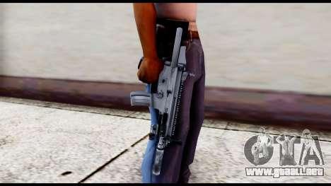 MK16 PDW Standart Quality v1 para GTA San Andreas tercera pantalla