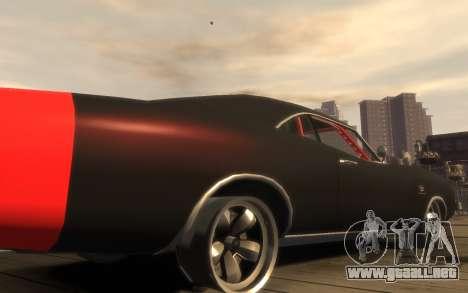 Dukes Impulse Daytona Tuning para GTA 4 vista interior