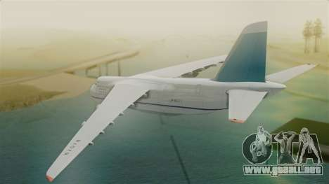 Antonov 124 Russian Airforce para GTA San Andreas left